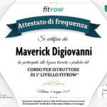 Diploma Istruttore Maverick Digiovanni