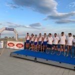 Pescara Campionato Italiano coastal rowing Canottieri Verbanese  medaglia d'argento categorai 4 con Senior