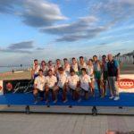 Pescara Campionato Italiano coastal rowing Canottieri Verbanese  medaglia d'argento categoria 4 con Senior