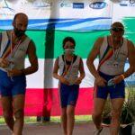 2 di coppia master argento Vicecampioni italiani