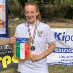 Ilaria Motta campionessa Italiana 2021 Singolo Junior